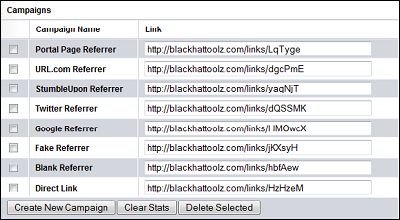 LinkRefer Referrer Faking Portal