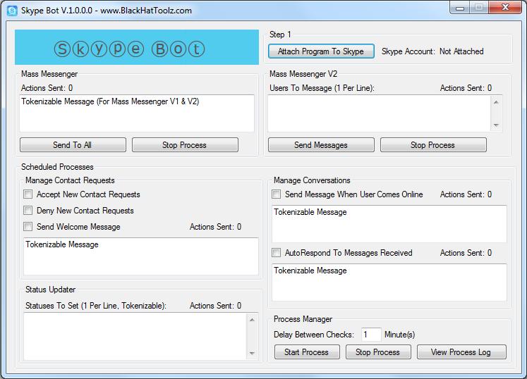 Skype AutoResponder Bot