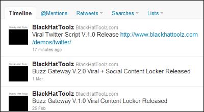 Black Hat Toolz - Viral Twitter Script V.1.1 65c5c431069